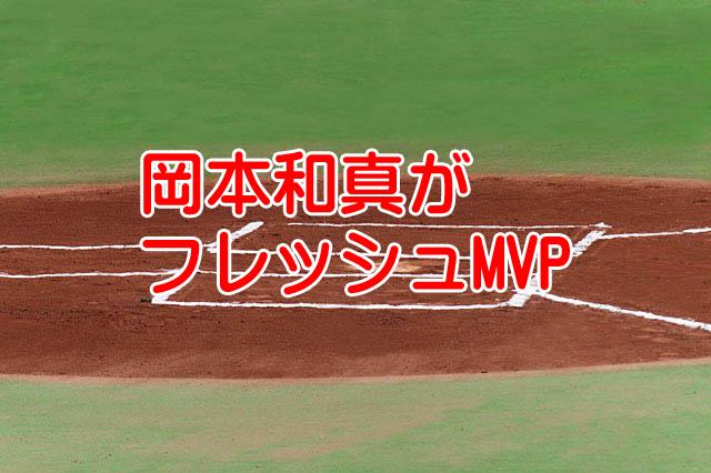 岡本和真フレッシュオールスターゲームMVP