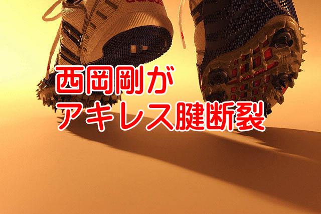 阪神西岡剛がアキレス腱断裂で号泣タイガース最下位へ