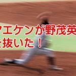 前田健太が14勝!エースが抜けた広島カープは優勝間近