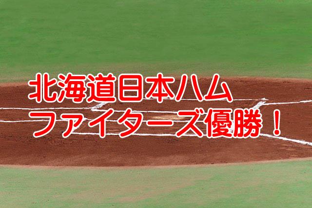 北海道日本ハムファイターズ逆転優勝大谷だけで野球は出来る
