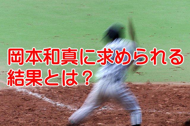 岡本和真が初の開幕1軍切符を獲得!勝負の3年目求められる結果は?